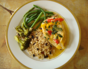 Chicken with Rice Pilaf
