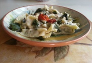 Lamb-Ravioli-with-Creamy-Mint-Sauce
